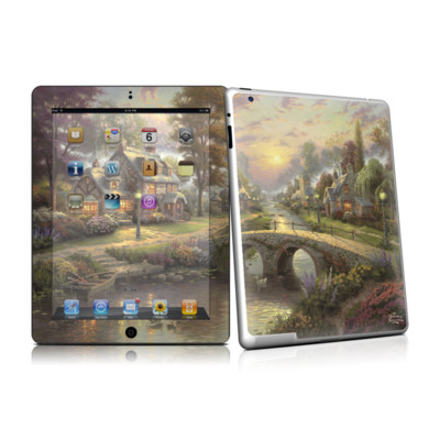 iPad 2 Skin - Sunset On Lamplight Lane