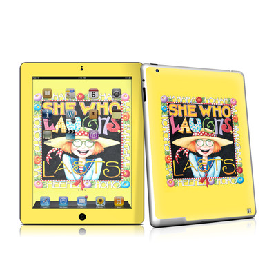iPad 2 Skin - She Who Laughs