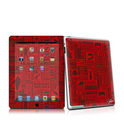 iPad 2 Skin - Life of MotoGP
