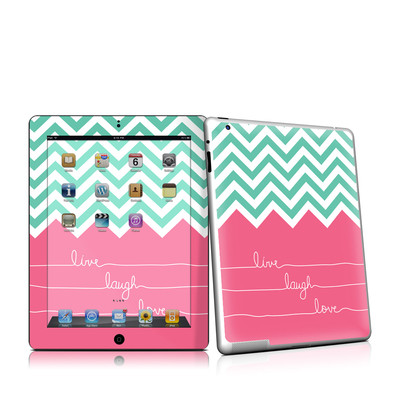 iPad 2 Skin - Live Laugh Love