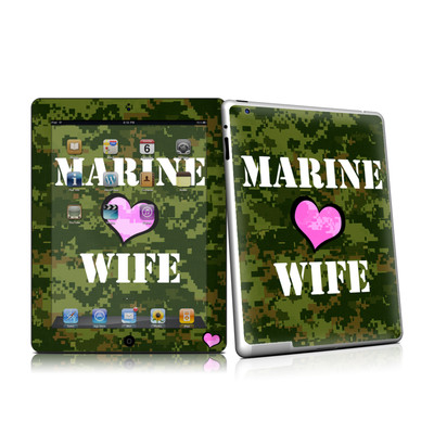 iPad 2 Skin - Marine Wife