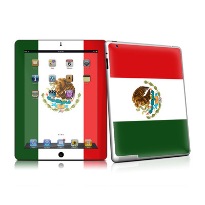 iPad 2 Skin - Mexican Flag