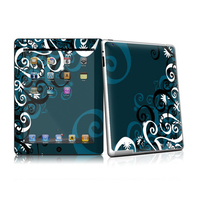 iPad 2 Skin - Midnight Garden