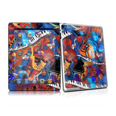 iPad 2 Skin - Music Madness