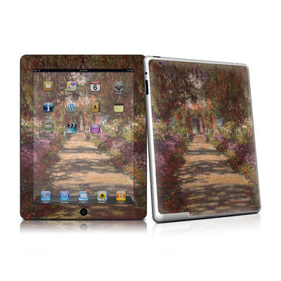iPad 2 Skin - Monet - Garden at Giverny
