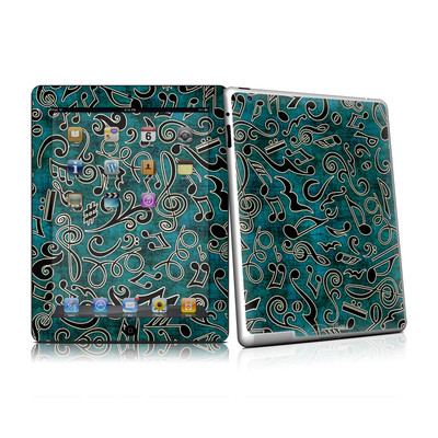 iPad 2 Skin - Music Notes