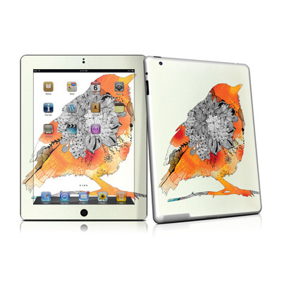 iPad 2 Skin - Orange Bird