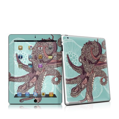 iPad 2 Skin - Octopus Bloom