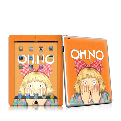 iPad 2 Skin - Oh No