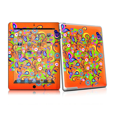 iPad 2 Skin - Orange Squirt