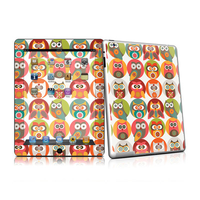 iPad 2 Skin - Owls Family
