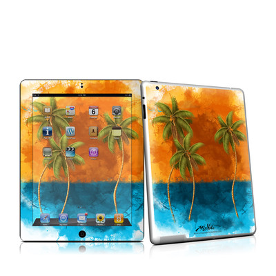 iPad 2 Skin - Palm Trio
