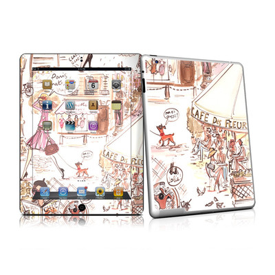iPad 2 Skin - Paris Makes Me Happy
