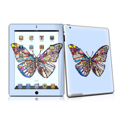iPad 2 Skin - Pieced Butterfly