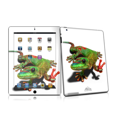 iPad 2 Skin - Peace Gecko