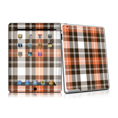 iPad 2 Skin - Copper Plaid