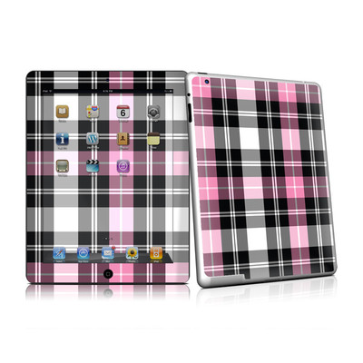 iPad 2 Skin - Pink Plaid