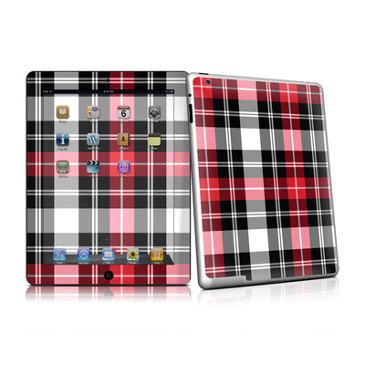 iPad 2 Skin - Red Plaid