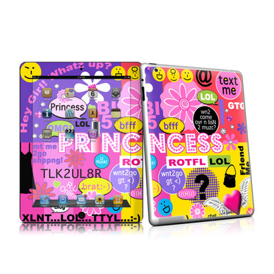 iPad 2 Skin - Princess Text Me