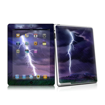 iPad 2 Skin - Purple Strike
