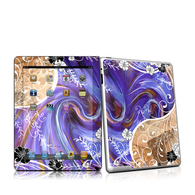 iPad 2 Skin - Purple Waves