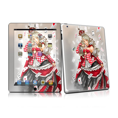 iPad 2 Skin - Queen Of Cards
