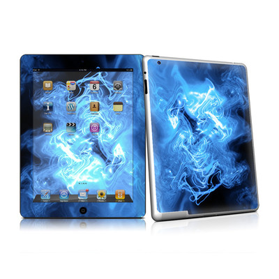 iPad 2 Skin - Blue Quantum Waves
