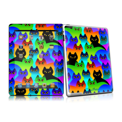 iPad 2 Skin - Rainbow Cats