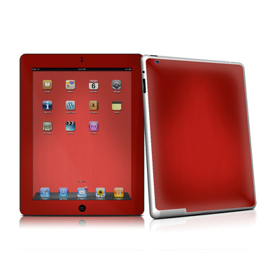 iPad 2 Skin - Red Burst