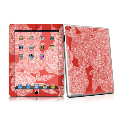iPad 2 Skin - Red Dahlias