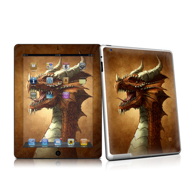 iPad 2 Skin - Red Dragon