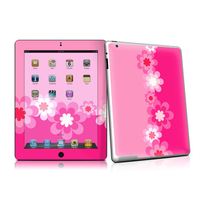 iPad 2 Skin - Retro Pink Flowers