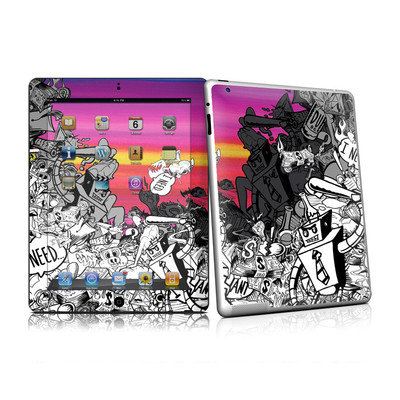 iPad 2 Skin - Robo Fight