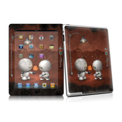 iPad 2 Skin - Robots In Love