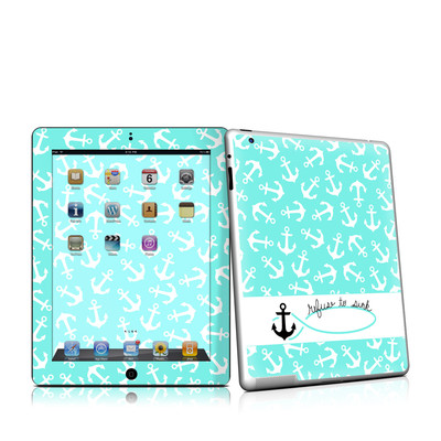 iPad 2 Skin - Refuse to Sink