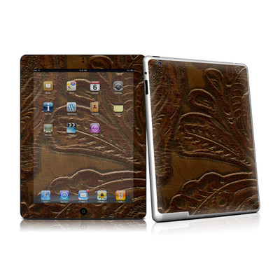 iPad 2 Skin - Saddle leather