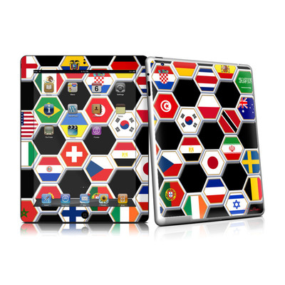iPad 2 Skin - Soccer Flags