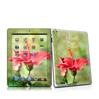 iPad 2 Skin - She Believed