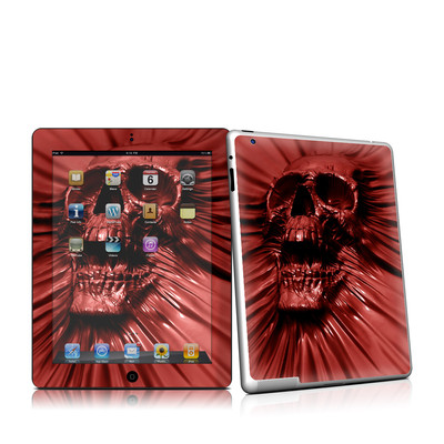 iPad 2 Skin - Skull Blood