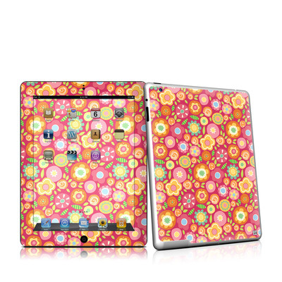 iPad 2 Skin - Flowers Squished