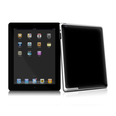 iPad 2 Skin - Solid State Black