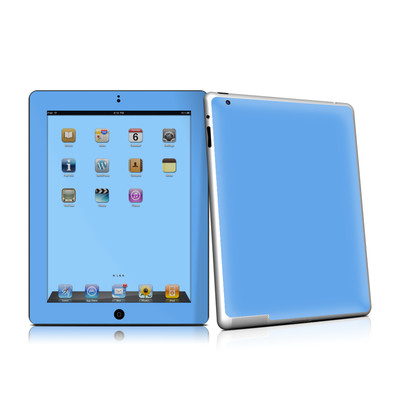 iPad 2 Skin - Solid State Blue