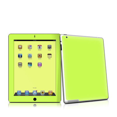 iPad 2 Skin - Solid State Lime