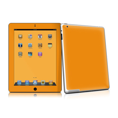 iPad 2 Skin - Solid State Orange