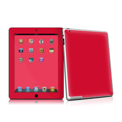 iPad 2 Skin - Solid State Red