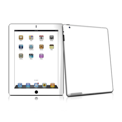 iPad 2 Skin - Solid State White