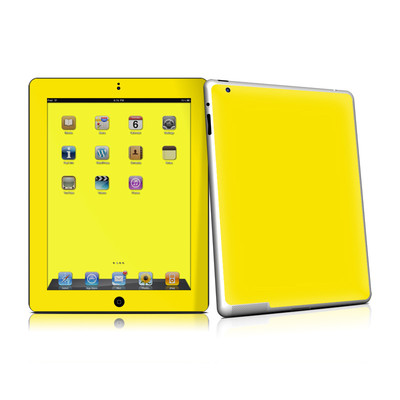 iPad 2 Skin - Solid State Yellow