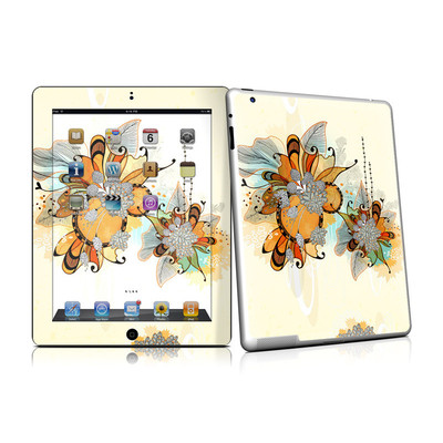 iPad 2 Skin - Sunset Flowers