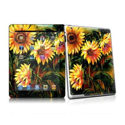 iPad 2 Skin - Sunflower Sunshine
