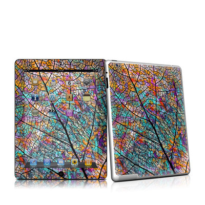iPad 2 Skin - Stained Aspen